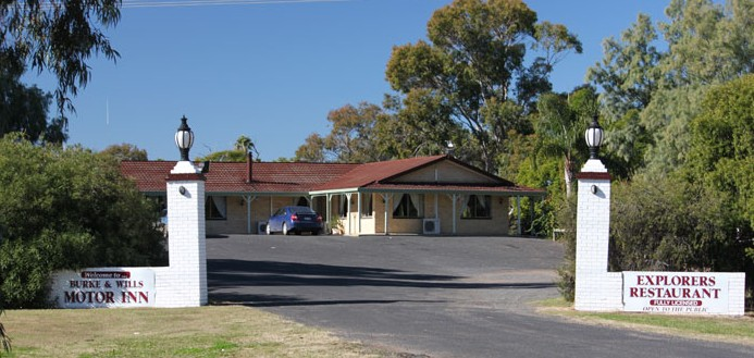 Burke and Wills Motor Inn - Moree - Accommodation Airlie Beach