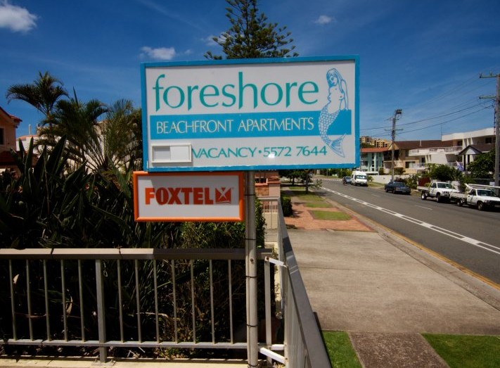 Foreshore Apartments Mermaid Beach - Accommodation Airlie Beach