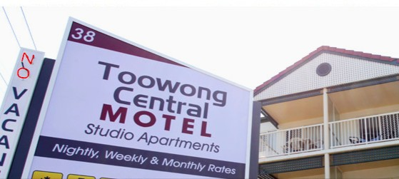 Toowong Central Motel Apartments - Accommodation Airlie Beach