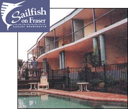 Sailfish On Fraser - Accommodation Airlie Beach