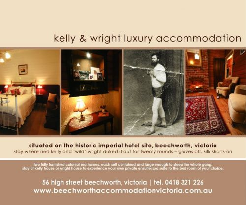 Beechworth Accommodation Victoria - Accommodation Airlie Beach