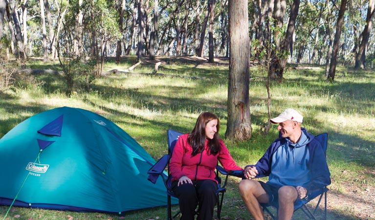 Apsley Falls campground - Accommodation Airlie Beach