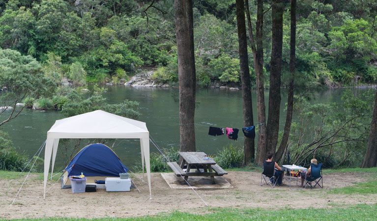 Platypus Flat campground - Accommodation Airlie Beach