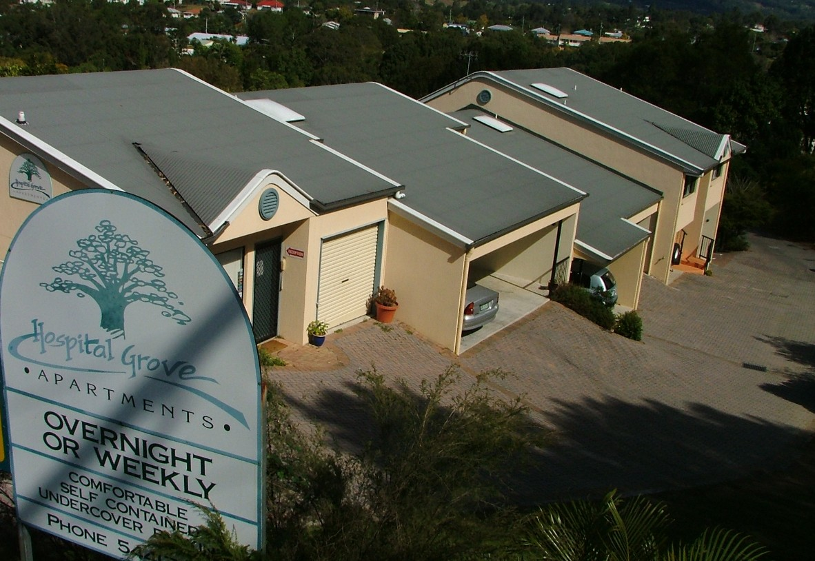 Hospital Grove Apartments - Accommodation Airlie Beach