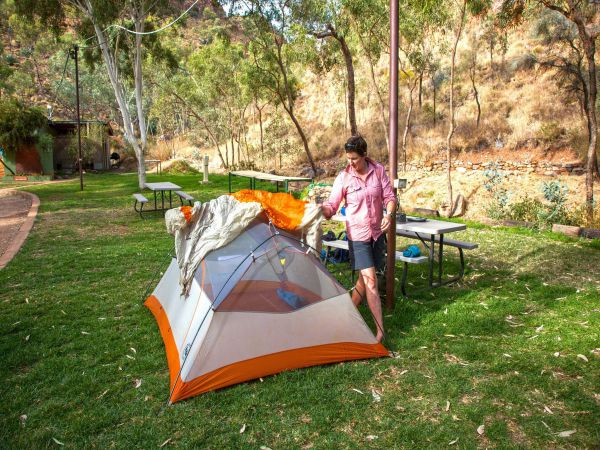 Standley Chasm Angkerle Camping - Accommodation Airlie Beach