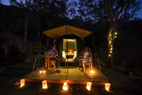 Keswick Island Camping and Glamping - Accommodation Airlie Beach
