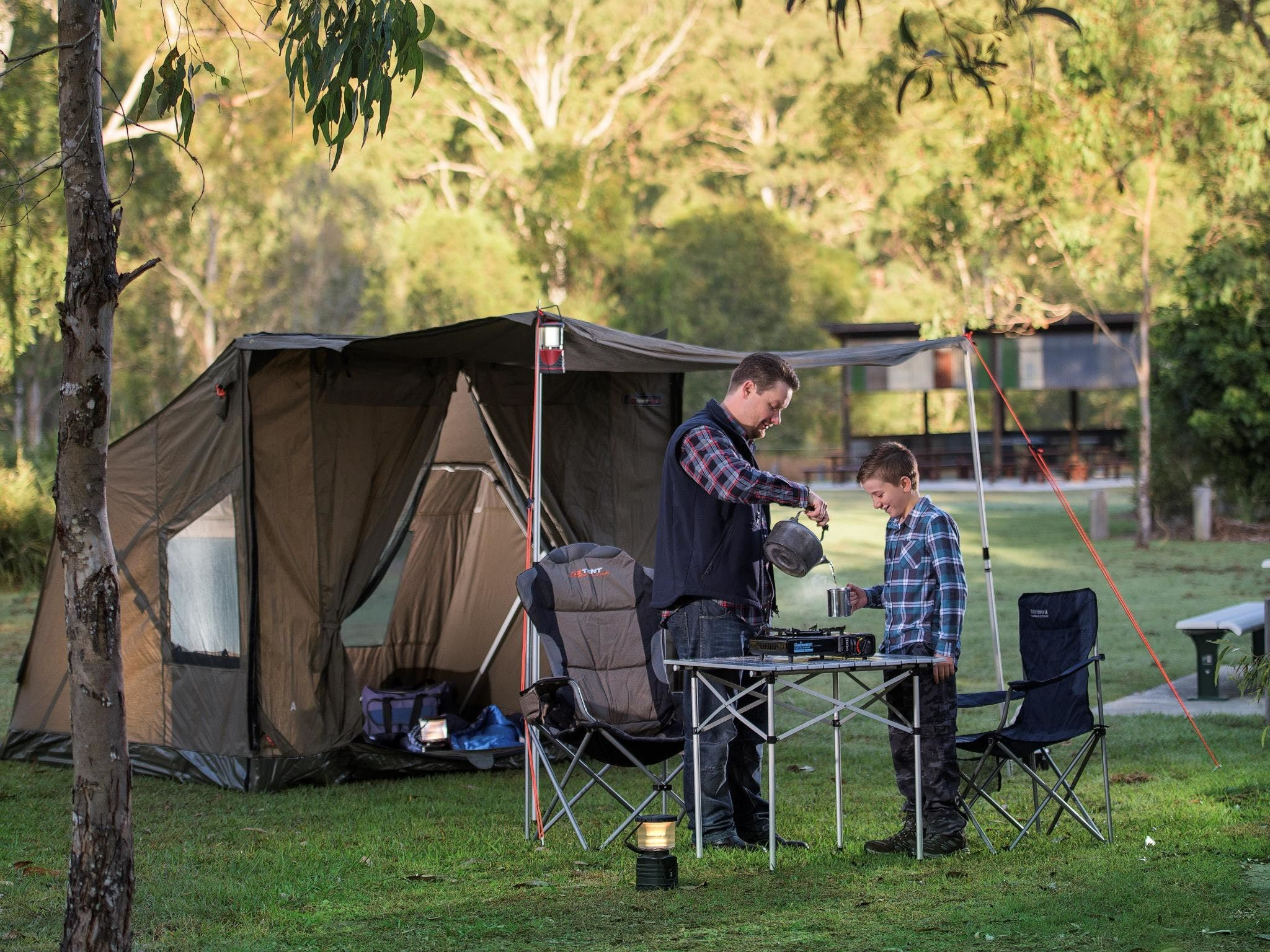 Hardings Paddock Campground - Accommodation Airlie Beach