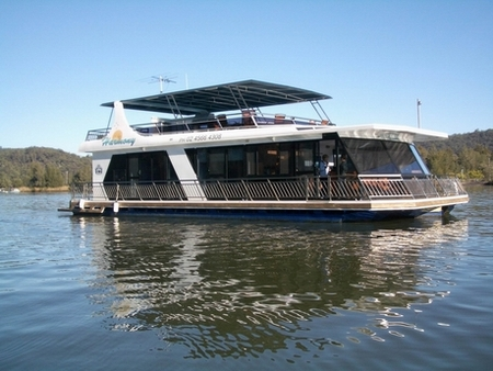 Able Hawkesbury River Houseboats - Accommodation Airlie Beach