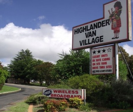 Highlander Van Village - Accommodation Airlie Beach