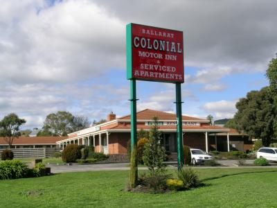 Ballarat Colonial Motor Inn - Accommodation Airlie Beach