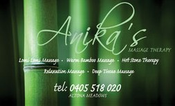 Anikas Massage Therapy - Accommodation Airlie Beach