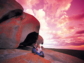 Remarkable Rocks Flinders Chase National Park - Accommodation Airlie Beach