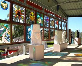 Alpha31 Art Gallery and Sculpture Garden - Accommodation Airlie Beach