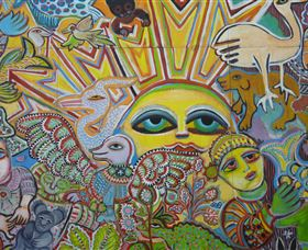 The Painting of Life by Mirka Mora - Accommodation Airlie Beach