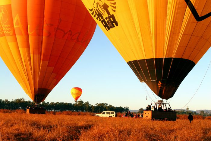 Hot Air Balloon Scenic Rim - Accommodation Airlie Beach