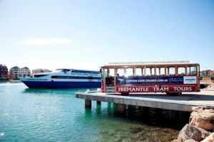 Perth Lunch Cruise including Fremantle Sightseeing Tram Tour - Accommodation Airlie Beach