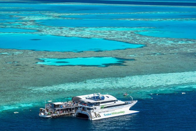 Great Barrier Reef Day Cruise to Reefworld - Accommodation Airlie Beach