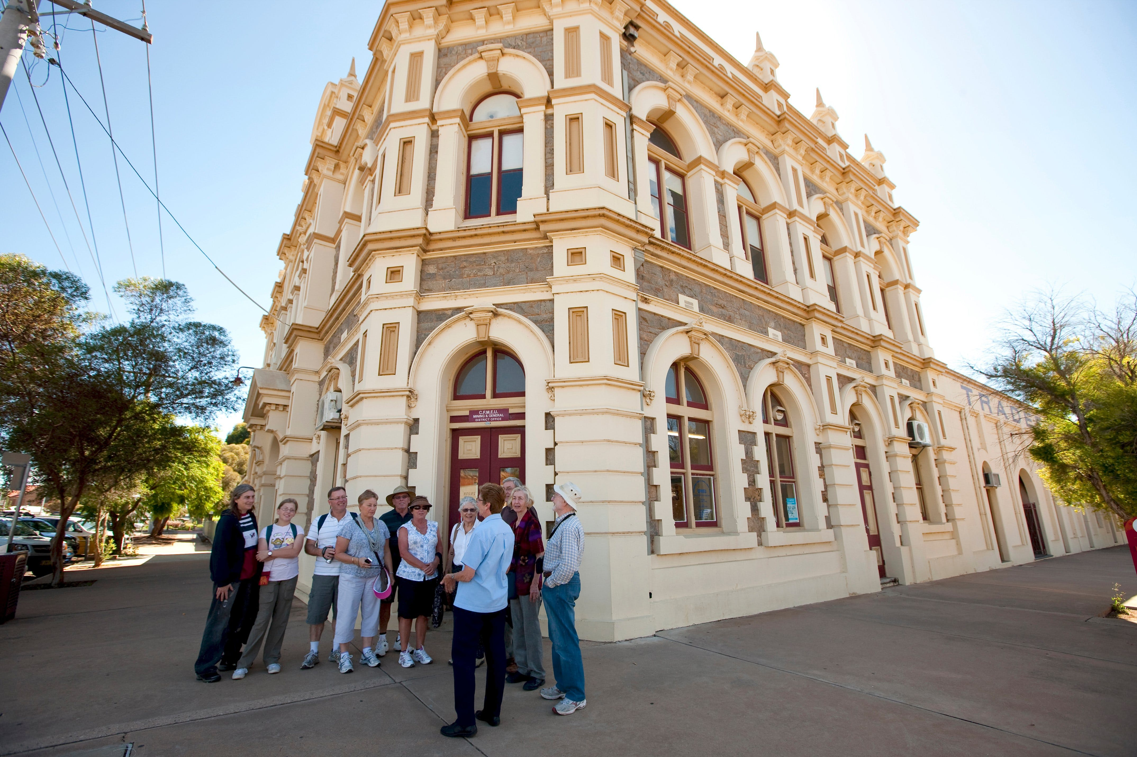 Broken Hill Heritage Walk Tour - Accommodation Airlie Beach