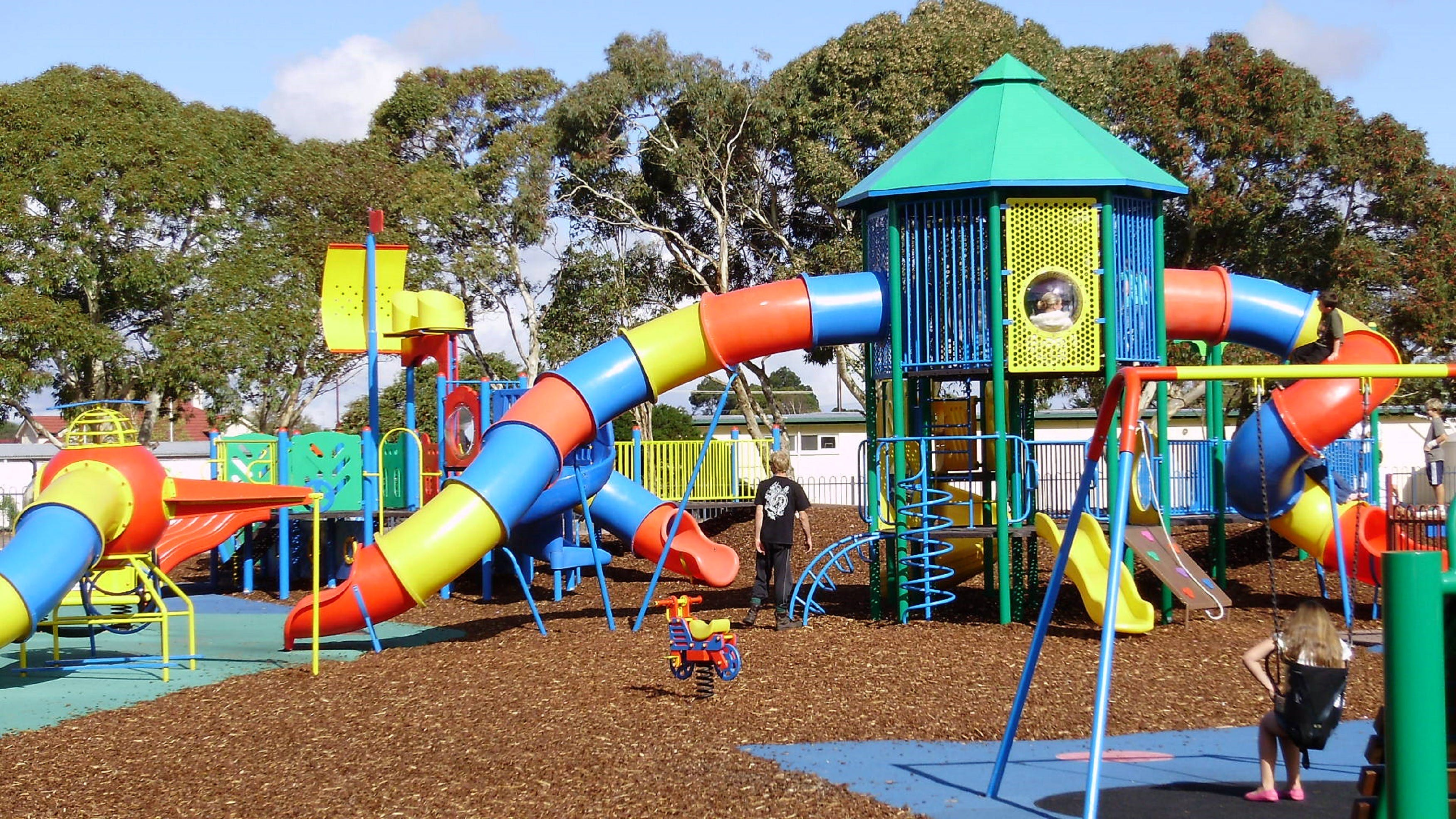 Millicent Mega Playground in The Domain - Accommodation Airlie Beach