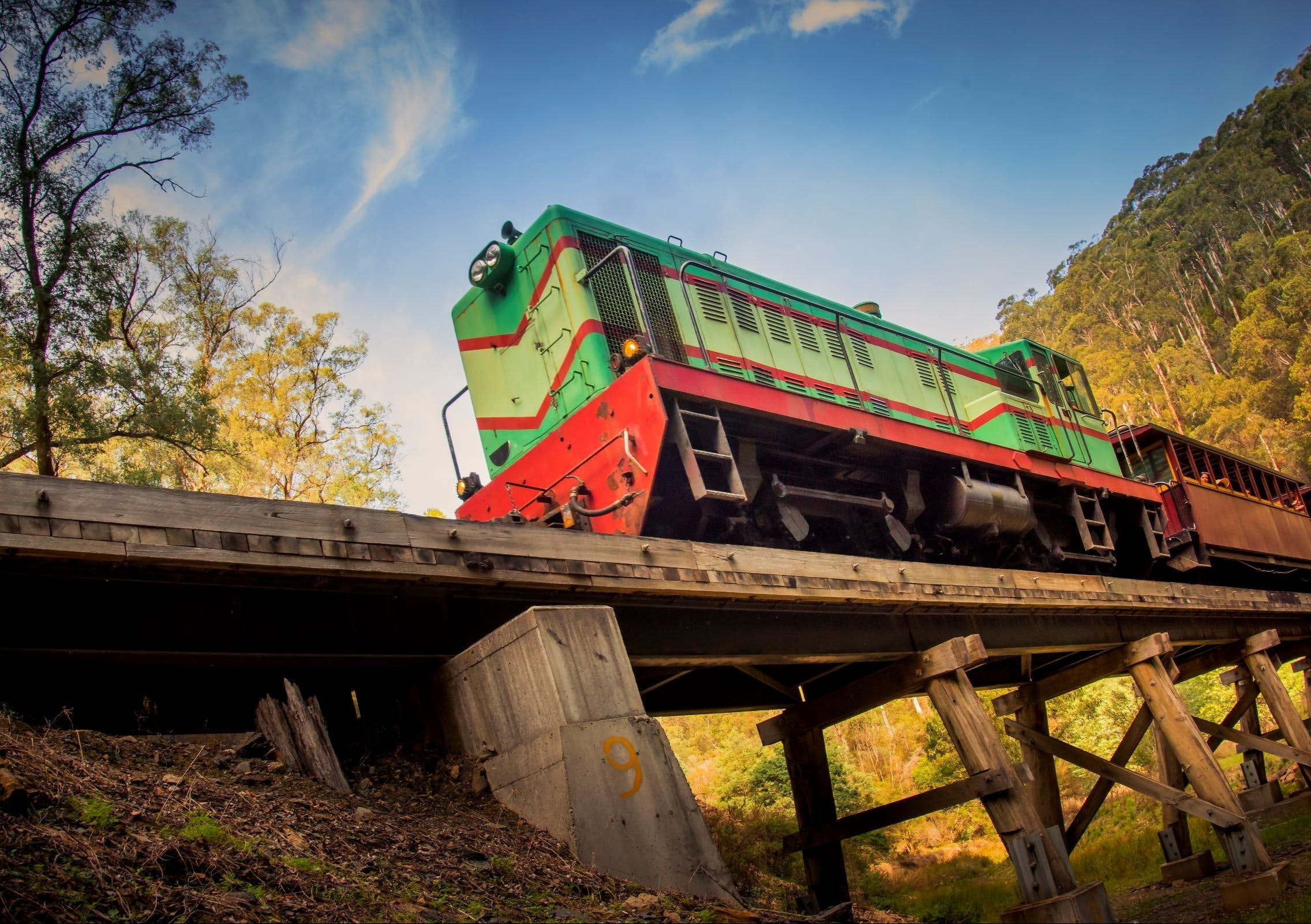 Walhalla Goldfields Railway - Accommodation Airlie Beach
