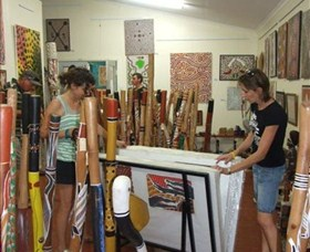 Top Didj and Art Gallery - Accommodation Airlie Beach
