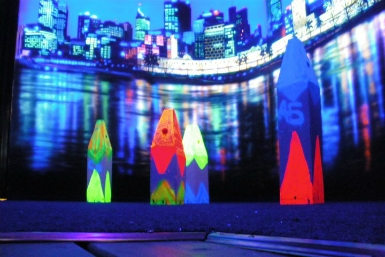 Family Fun Centres Black Light Mini Golf - Accommodation Airlie Beach