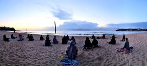Making Meditation Mainstream Free Beach Meditation Sessions - Avalon Beach - Accommodation Airlie Beach