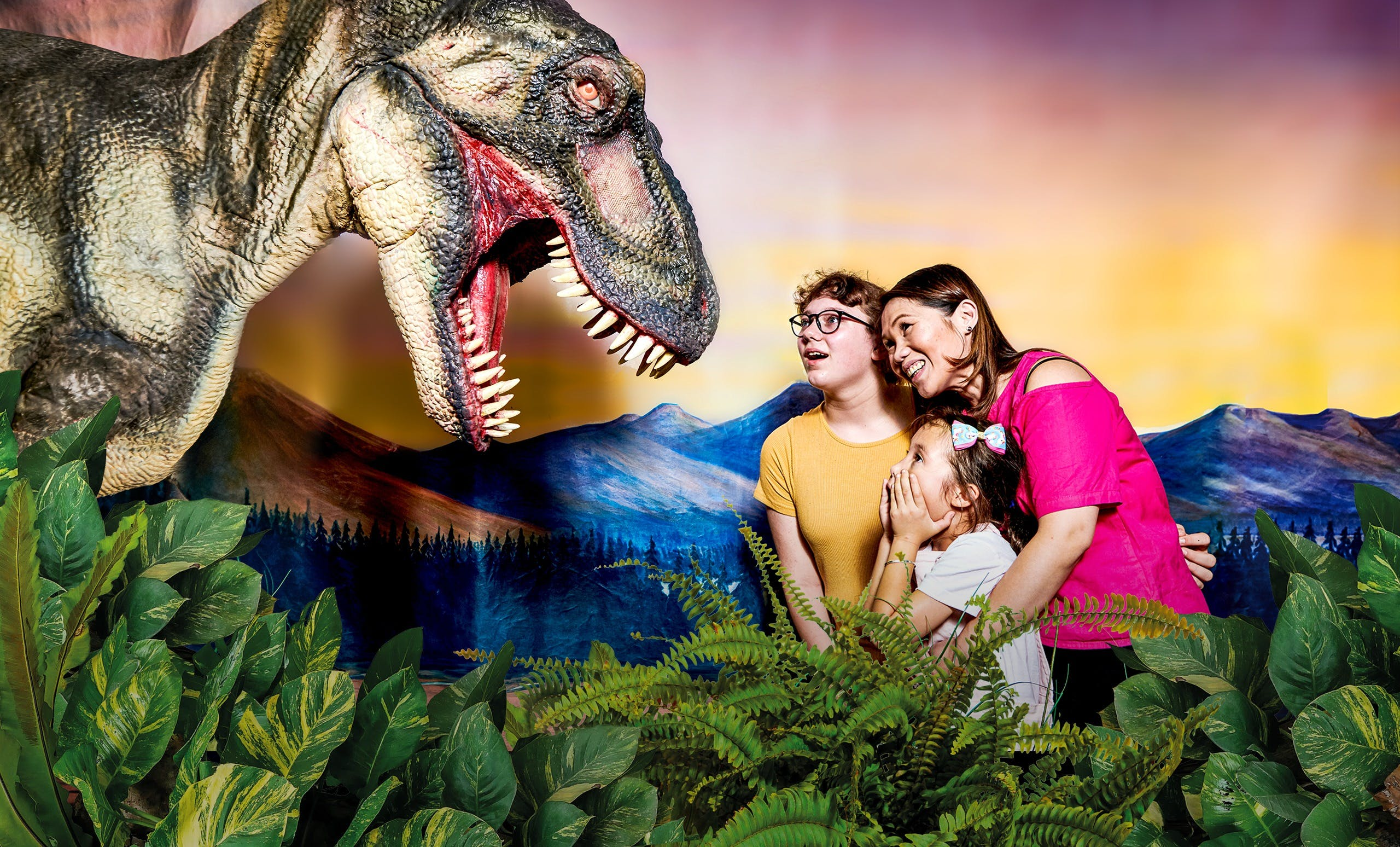 Meet the Dinosaurs at Scitech - Accommodation Airlie Beach