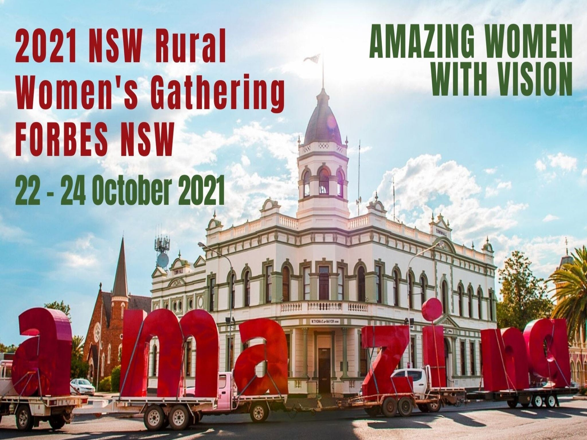 Forbes NSW Rural Women's Gathering - Accommodation Airlie Beach