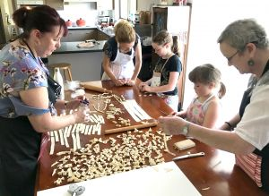 Kids Pasta Making Class - hands on fun at your house - Accommodation Airlie Beach