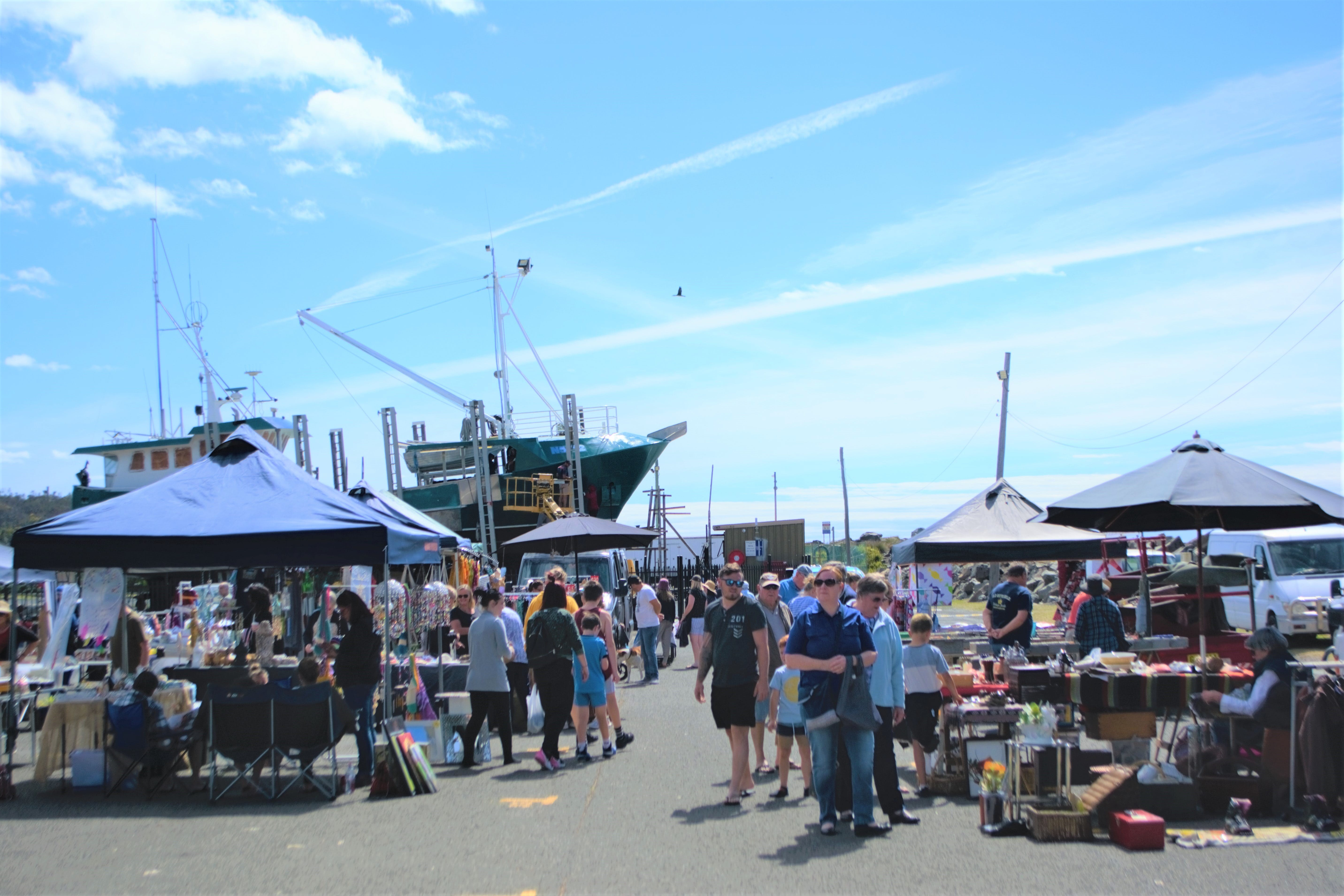 Marine Rescue Ulladulla Wharf Markets - Accommodation Airlie Beach