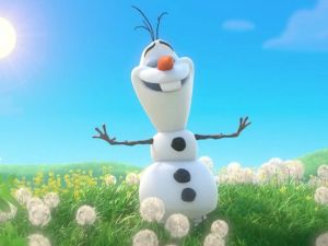 Meet Olaf from Frozen - Accommodation Airlie Beach