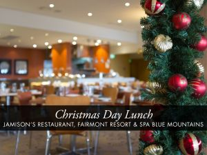 Christmas Day Buffet Lunch at Jamison's Restaurant - Accommodation Airlie Beach