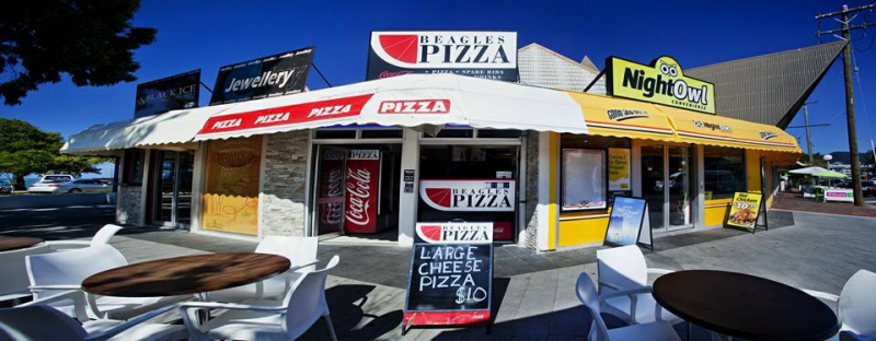 Beagles Pizza - Accommodation Airlie Beach