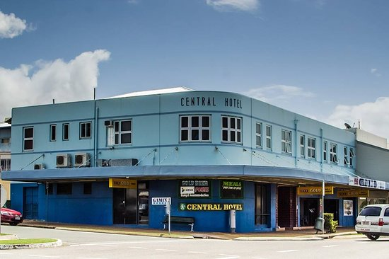 Central Hotel Bowen - Accommodation Airlie Beach